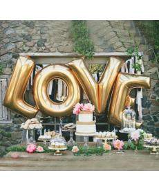 Naukovací balónky  - LOVE