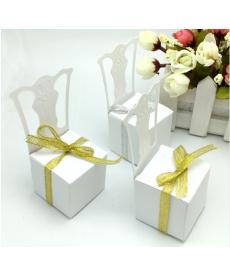 Sada svatebních dárkových krabiček - židlička