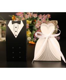 Sada svatebních dárkových krabiček - manželé