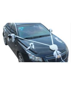 Sada svatebních dekorací na auto