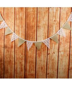 Svatební dekorační praporky