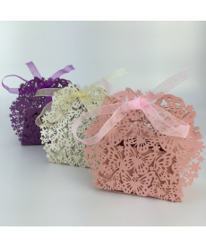 Sada svatebních dárkových krabiček - motýli