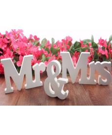 Set svatební dekorace Mr&Mrs