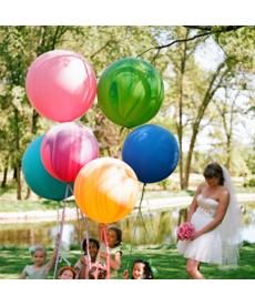 Sada nafukovacích jumbo balónků
