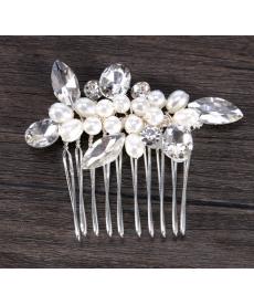 Sada třpytivých vlasových šperků - hřebínky
