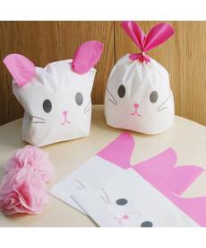 Sada dekoračních sáčků - kočička