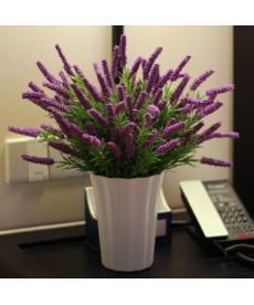 Dekorační umělá květina - levandule