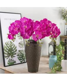 Umělá dekorační květina - orchidej
