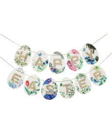 Velikonoční dekorační girlanda