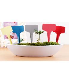 Sada barevných zahradních rozlišovačů