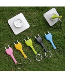 Držák na klíče - elektrická zásuvka