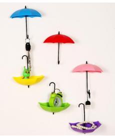 Sada dekoračních držáků na klíče - deštníky