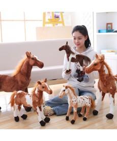 Plyšový kůň menší