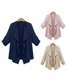 Elegantní sako bez zapínání