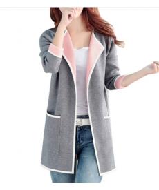 Elegantní dámský kabát - cardigan