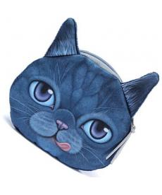 Peněženka ve tvaru kočky - malý formát