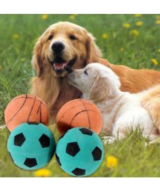 Míček pro psy - basketbalový nebo fotbalový