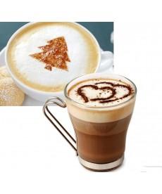Sada šablon na kávu či cappuccino (16 ks)