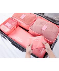 Dámské cestovní tašky 6 kusů