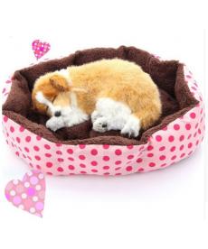 Plyšový pelíšek pro psy