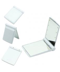 Kompaktní kosmetické zrcátko - bílé