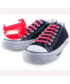 16 silikonových tkaniček do bot