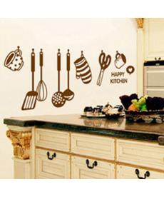 Samolepka do kuchyně - kuchyňské náčiní