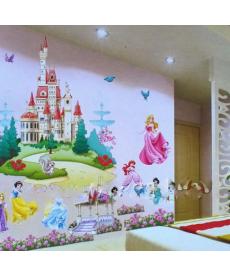 Samolepka - Disney princezny