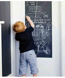 Samolepka na zeď - kreslící tabule