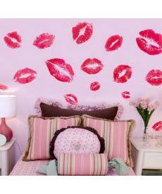 Polibky - samolepky na zeď