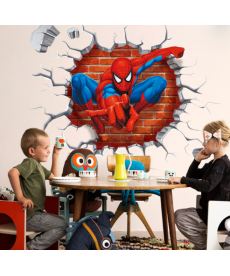 3D samolepka - Spiderman