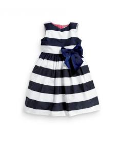 Letní pruhované šaty pro nejmenší