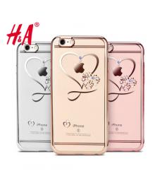 Luxusní silikonový kryt s dokonalými krystaly Iphone 6/6S