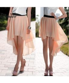 Krásná asymetrická sukně
