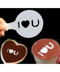 Formy na zdobení kafe