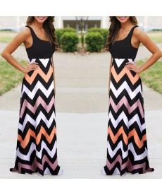 Letní splývavé lehké šaty
