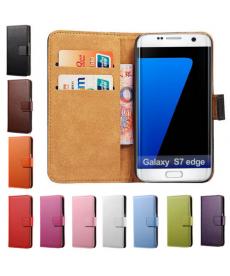 Kožený obal na Samsung Galaxy s7