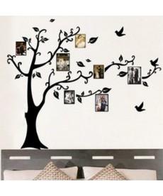 Strom vzpomínek - samolepka s fotorámečky