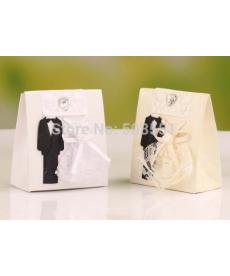 Sada svatebních dárkových krabiček - nevěsta a ženich