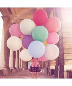 Velký nafukovací jednobarevný balónek