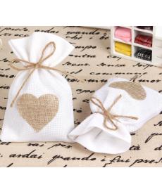 Sada svatebních dekoračních dárkových pytlíčků