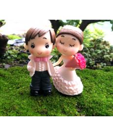 Ozdobné postavičky - ženich a nevěsta