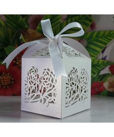 Sada svatebních dárkových krabiček - růže