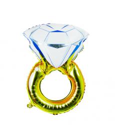 Nafukovací balón zásnubní prstýnek