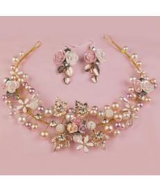 Dekorační svatební šperky v sadě pro nevěstu