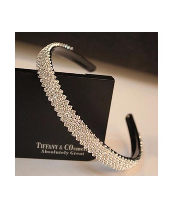 Luxusní černá svatební čelenka zdobená krystaly 008b643a9f