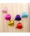 Lesklé svatební balónky ve tvaru srdce
