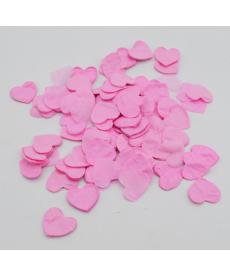 Sada svatebních konfet - srdíčka