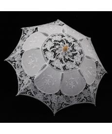 Krajkovaný svatební deštník