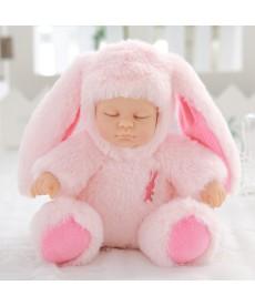 Spící plyšové miminko- panenka v mnoha provedeních